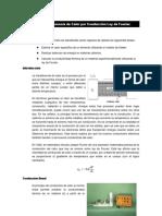 Ejercicio 7 Transferencia de Calor Por Conduccion Ley de Fourier