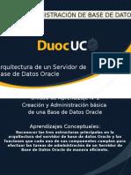 1.1. Arquitectura de Un Servidor de Base de Datos Oracle