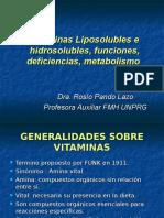 Vitaminas Liposolubles e hidrosolubles, funciones, deficiencias. ROSIO PANDO LAZO.ppt