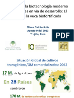 BIOTECNOLOGIA Eliana Gaitan