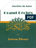 Enn Selection de Bann Grand Péchés