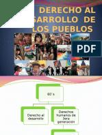 Derecho Al Desarrollo de Los Pueblos