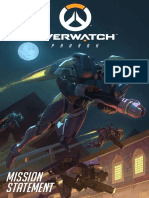 Comic Overwatch Pharah(5)
