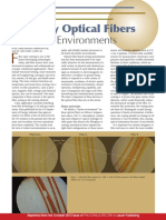 Specialty Optical Fibers for Harsh Environments
