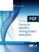 Benefits Focus During Project Execution
