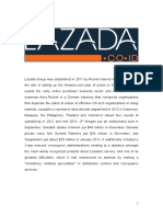 Introduction Lazada