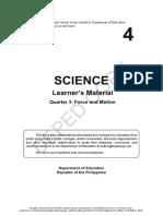 Science 4 - 3Q