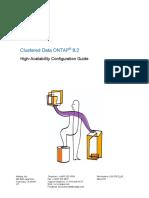 Clustered Data ONTAP 8.2 HA