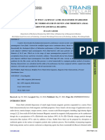 4. IJMPERD - Static Behavior of Poly _acrylic Acid_ Oligomer Stabilized