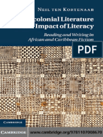 Postcolonial Literature by Neil Ten Kortenaar