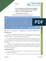 1. IJSMMRD - A Study to Identify Customer's Online Apparel Shopping Behavior In