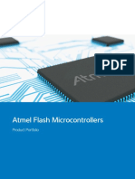Atmel 4099 Flash Microcontrollers Product Portfolio Brochure