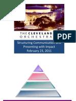 Pyramid Principle Cliff Notes PPT