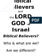 Biblical Believers.ppt