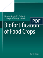 Agronomy Biofortification