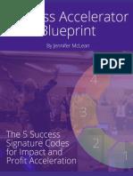 Success Accelerator Blueprint 2016