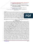 A Novel Approach for Detection of Adaptive Vehicle in Complex Environmental Fields