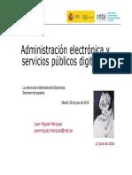 20160622 Administracion Electronica y Servicios Publicos Digitales-V2