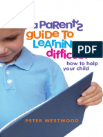 A Parent's Guide to Learning Difficulties How to Help Your Child
