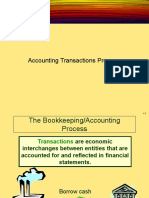 Accounting Transactions Process