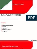Company Profile PHE ONWJ