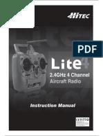 Hitec Lite 4 Manual