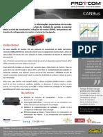 Frotcom CANBus Folheto PT