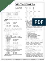 SSC CGL (Tier 1) Mock Test