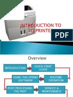 3 3d Printer