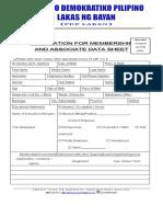 Pdp Assoc. Mem Form2