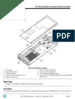 3Wire HP BL280c-G6 QuickSpecs