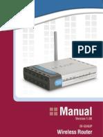 DI 524UP Manual