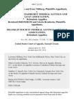 Larry Milberg and Irene Milberg v. Lawrence Cedarhurst Federal Savings and Loan Association, Bernhard Bronheim and Gloria Bronheim v. Franklin Society Federal Savings and Loan Association, 496 F.2d 523, 2d Cir. (1974)