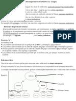 Ficha contenidos Lengua Unidad 12 - 6º