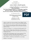 Juanita Gonzalez Garcia v. The Chase Manhattan Bank, N.A. And Siro Perez Oliva, the Chase Manhattan Bank, N.A., Siro Perez Oliva, Third Party Jose M. Perez Gonzalez, Third Party, 735 F.2d 645, 2d Cir. (1984)