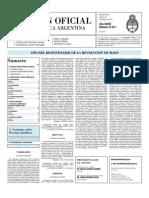 Boletin Oficial 27-05-10 - Segunda Seccion