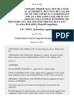Evaristo Rosario v. J.W. Tippy, 101 F.3d 108, 2d Cir. (1996)