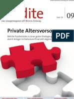 Private Altersvorsorge - Welche Puzzlestücke zu einer guten Strategie gehören, damit Anleger im Ruhestand finanziell abgesichert sind