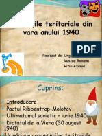 Pierderile Teritoriale Din 1940