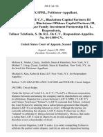 Laif X Sprl v. Axtel, S.A. De C v.  Blackstone Capital Partners III Merchant Banking, Blackstone Offshore Capital Partners Iii, L.P. And Blackstone Family Investment Partnership Iii, L., Telinor Telefonia, S. De R.L. De C v.  No. 04-1509-Cv, 390 F.3d 194, 2d Cir. (2004)