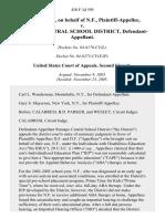D.F. And D.F., on Behalf of N.F. v. Ramapo Central School District, 430 F.3d 595, 2d Cir. (2005)