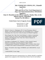 Global Network Communications, Inc. v. City of New York and City of New York Department of Information Technology and Telecommunications, Gino O. Menchini, in His Official Capacity, Stanley Shor, in His Official Capacity, Docket No. 05-3298-Cv, 458 F.3d 150, 2d Cir. (2006)