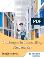 Counselling for Research