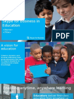 Skype for Business in Education