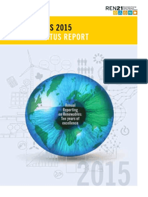 Renewable 2015 Global Status Report Renewable Energy