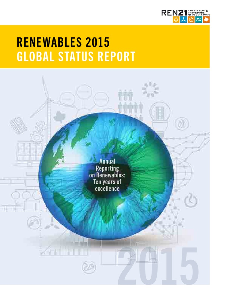 Renewable 2015 Global Status Report Energy World Line Diagram 4100 Watt Pv System Using Enphase M 210 Inverters Http Consumption