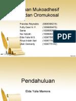 Sediaan Mukoadhesif Oral Dan Oromukosal Ref 18 Okt