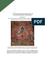 A Votive Prayer and Dedication on an Early Thangka of SMan Bla