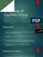 Presentation Epyllion
