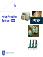 Ge Multilin Motor Protection Seminar